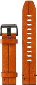Garmin replacement bracelet Quickfit 22 leather brown/slate grey (010-12863-05)