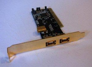 Diverse Schnittstellenkarten 3x FireWire, PCI -- © bepixelung.org