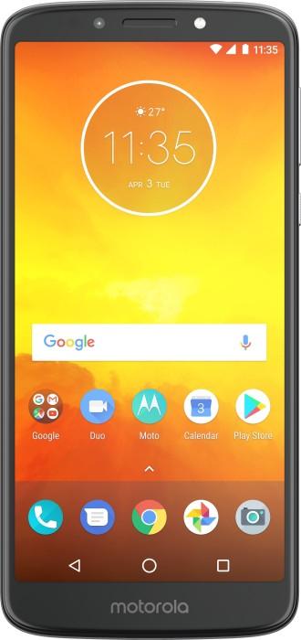 Motorola Moto E5 Dual-SIM grau