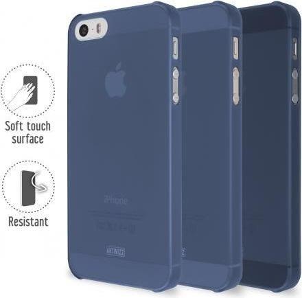 artwizz rubberclip f r iphone 5 5s se blau 3756 1136 ab. Black Bedroom Furniture Sets. Home Design Ideas