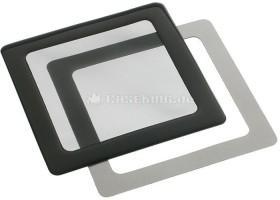 DEMCiflex dust filter 80mm square black/black (DF0002)