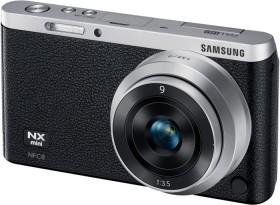 Samsung NX mini schwarz mit Objektiv NX-M 9mm ED
