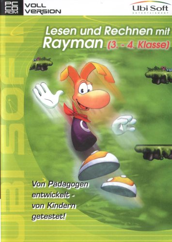 Ubi Soft: Rayman - Odczyt i Rechnen klasa 3 & 4 (PC) -- via Amazon Partnerprogramm