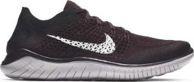 Nike Free RN Flyknit 2018 burgundy ash/black/atmosphere grey/white (Herren) (942838-603)