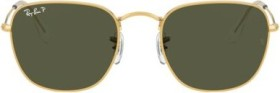 Ray-Ban RB3857 Frank 51mm shiny gold/green classic (RB3857-919658)