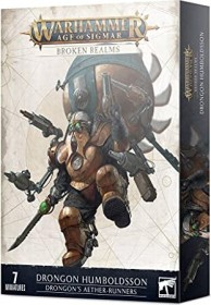 Games Workshop Warhammer Age of Sigmar - Kharadron Overlords - Broken Realms: Drongons Aetherläufer (99120205042)