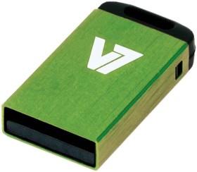 V7 Nano USB-Stick grün 32GB, USB-A 2.0 (VU232GCR-GRE-2N)