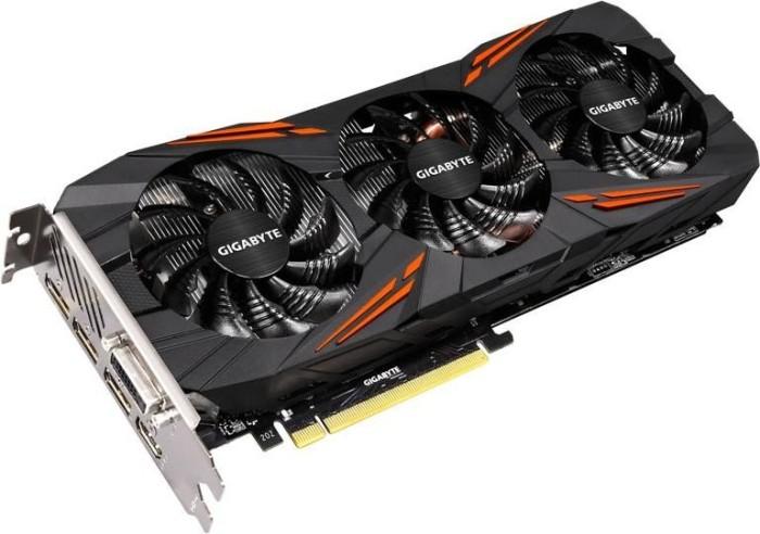Gigabyte GeForce GTX 1070 Ti Gaming 8G, 8GB GDDR5, DVI, HDMI, 3x DisplayPort (GV-N107TGAMING-8GD)