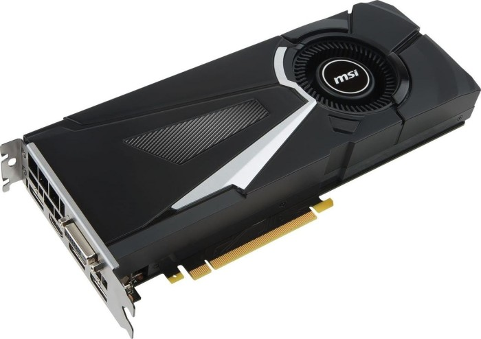MSI GeForce GTX 1070 Ti Aero 8G, 8GB GDDR5, DVI, HDMI, 3x DP (V330-235R)