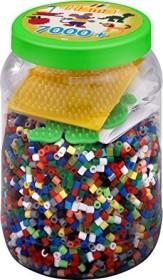 Hama Bügelperlen midi Dose mit Perlen und Stiftplatten grün (2087)