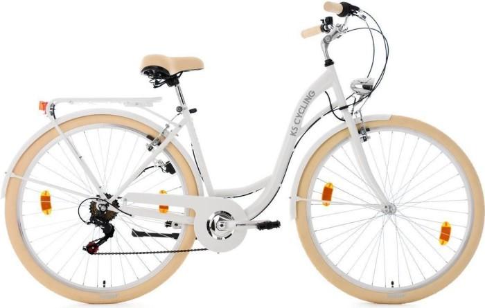 """KS Cycling Balloon 28"""" weiß (760C)"""