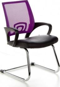 HJH Office Visto Net V Konferenzstuhl, violett (650450)