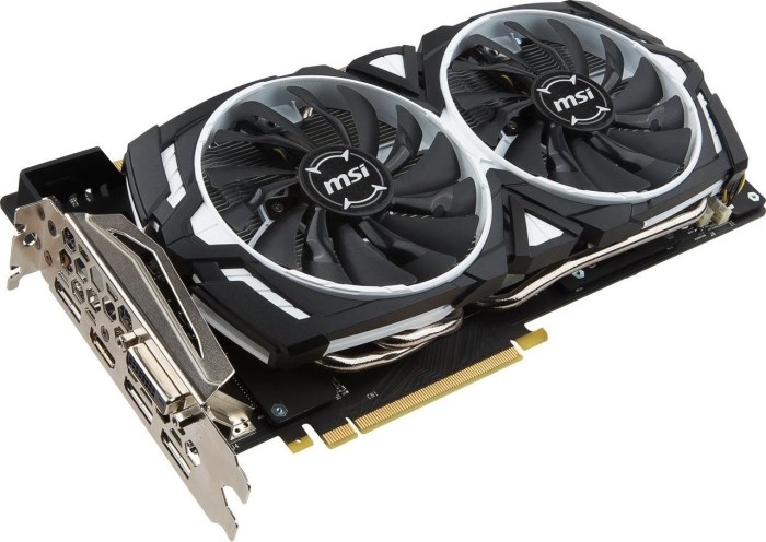 MSI GeForce GTX 1070 Ti Armor 8G, 8GB GDDR5, DVI, HDMI, 3x DP (V330-223R)