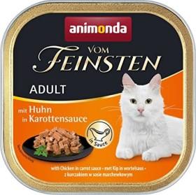 animonda Vom Feinsten Adult Huhn in Karottensauce 3.2kg (32x100g) (83362#32)