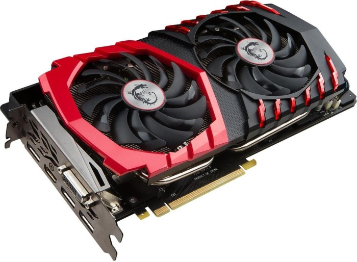 MSI GeForce GTX 1070 Ti Gaming 8G, 8GB GDDR5, DVI, HDMI, 3x DP (V330-237R)