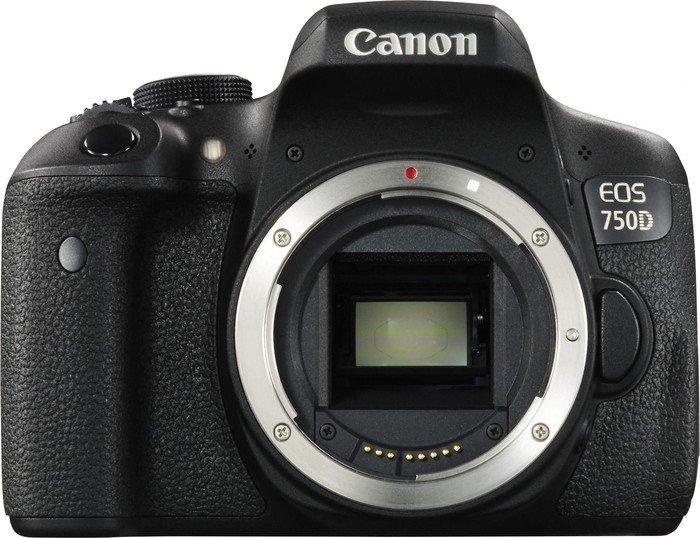 Canon EOS 750D schwarz Gehäuse (0592C015)