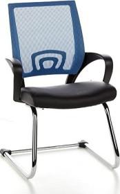 HJH Office Visto Net V Konferenzstuhl, blau (650430)