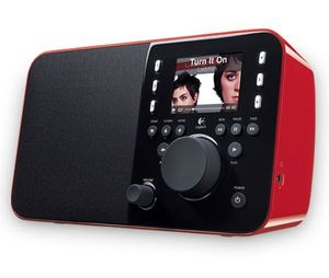 Logitech Squeezebox Radio red (930-000096)