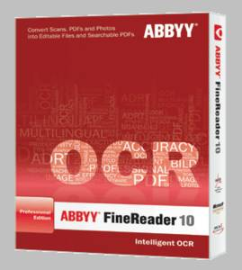 Abbyy: FineReader 10 Professional (English) (PC) (101010100020)