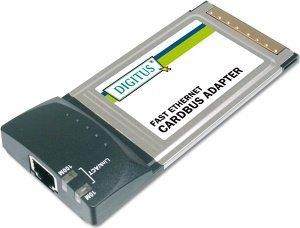 Digitus DN-2002C, 1x 100Base-TX, Cardbus