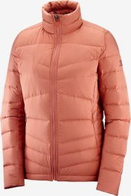 Salomon Transition Down Jacke brick dust (Damen) (C13900)