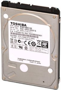 Toshiba Mobile HDD MQ01-Series 1TB, SATA 3Gb/s (MQ01ABD100)