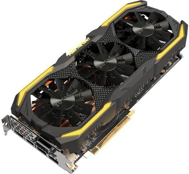 Zotac GeForce GTX 1070 Ti AMP Extreme, 8GB GDDR5, DVI, HDMI, 3x DP (ZT-P10710B-10P)