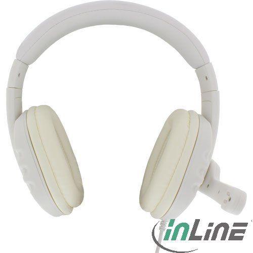 InLine 55352W Headset weiß