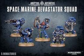 Games Workshop Warhammer 40.000 - Space Marines - Devastator Squad (99120101231)