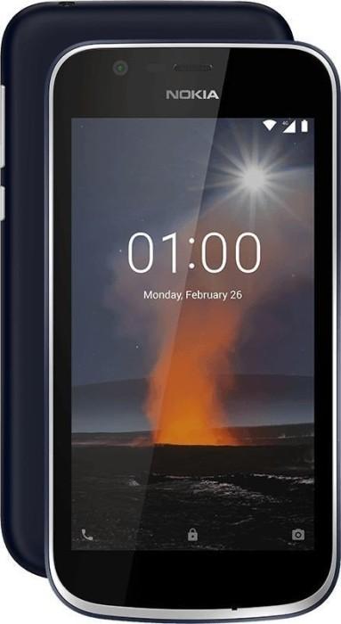 Nokia 1 Dual-SIM blau
