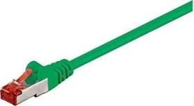 goobay Patchkabel, Cat6, S/FTP, RJ-45/RJ-45, 0.25m, grün (95454)