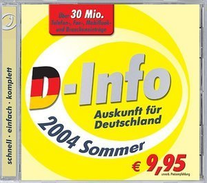 Buhl Data: D-Info 2004 summer (PC)