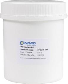 Conrad Electronic Hochleistungs-Wärmeleitpaste, schwarz, 525g (CTCM78-250)