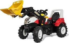 rolly toys rollyFarmtrac Steyr CVT 6300 Pedal-Tractor with Front Loader red (710065)