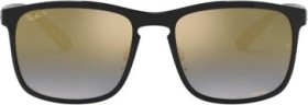Ray-Ban RB4264 Chromance 58mm black/blue mirror chromance (RB4264-601/J0)