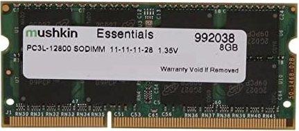 Mushkin Essentials SO-DIMM 8GB, DDR3-1600, CL11-11-11-28 (992038)