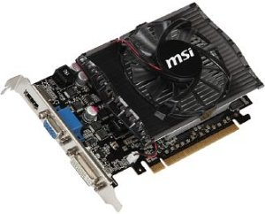 MSI N430GT-MD4GD3, GeForce GT 430, 4GB DDR3, VGA, DVI, HDMI (V809-045R)