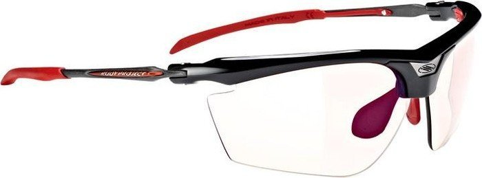 Rudy Project Magster black gloss/impactX photochromic 2 laser red (SN668942MR) -- ©Globetrotter