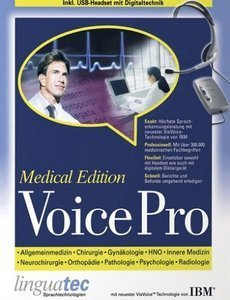 Linguatec: Voice Pro 10.0 USB - Medical Edition with headset (PC)