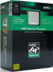 AMD Opteron 180, 2C/2T, 2.40GHz, boxed (OSA180CDBOX)