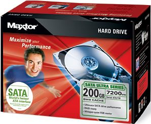 Maxtor Ultra 16 Hard Drive Kit 200GB, SATA (L14M200)