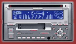 Pioneer FH-P4000R CD-cassettes-tuner