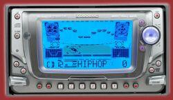 Pioneer FH-P6600R CD-Cassetten-Tuner