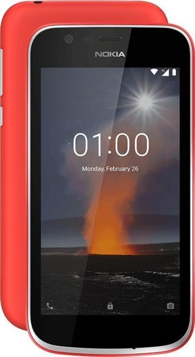 Nokia 1 Dual-SIM rot