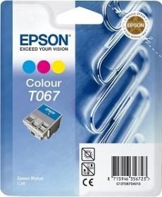 Epson ink T067 tricolour (C13T06704010)