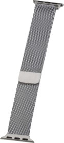 Peter Jäckel Watch Band Milanaise für Apple Watch (40mm/38mm) silber (17299)