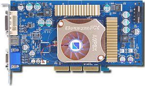 Albatron FX5900XT, GeForceFX 5900XT, 128MB DDR, DVI, TV-out, AGP