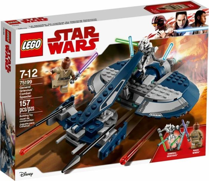 LEGO Star Wars Episoden I-VI - General Grievous Combat Speeder (75199)