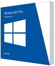 Microsoft Windows 8.1 Pro 32/64Bit, DSP/SB (deutsch) (PC) (FQC-07337)
