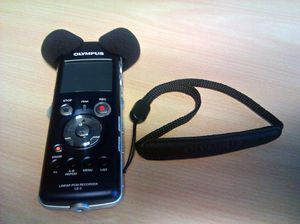 Olympus LS-5 digital voice recorder -- http://bepixelung.org/19076